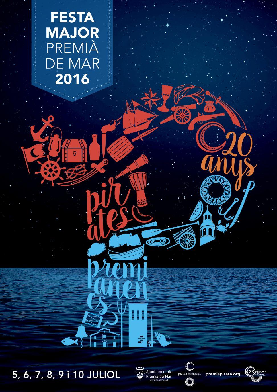 Fiesta mayor de premi de mar del 5 a 10 de julio best for Piscina premia de mar