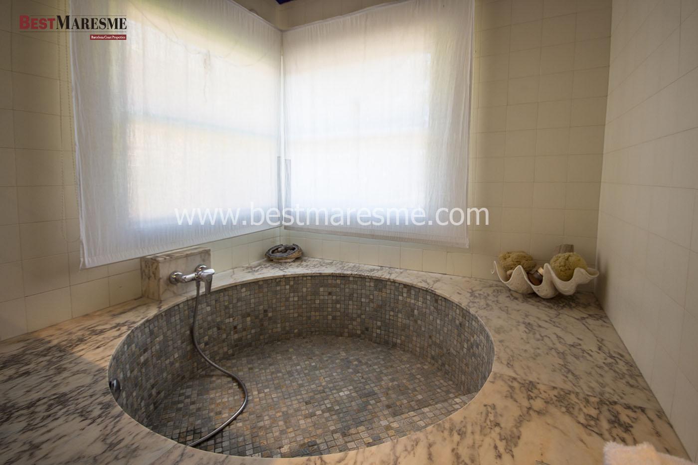 Baños de ensueño en nuestras casas del Maresme | BestMaresme