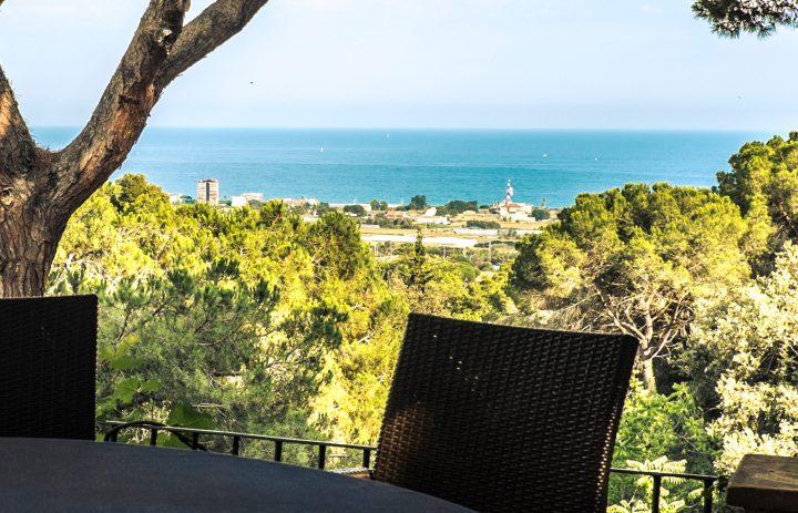 Vistas desde la terraza del Restaurante Santa Marta