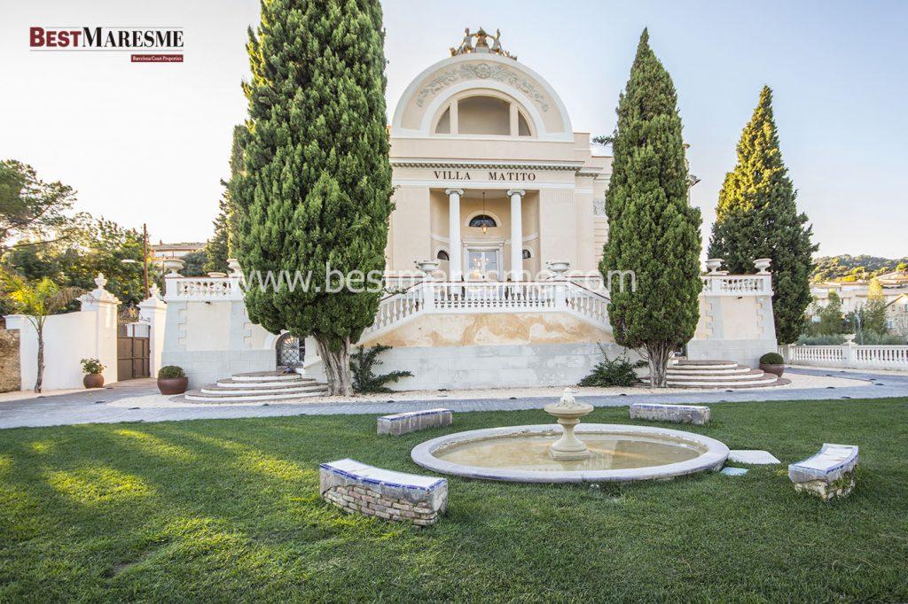 Villa de estilo neoclásico construida en 1850