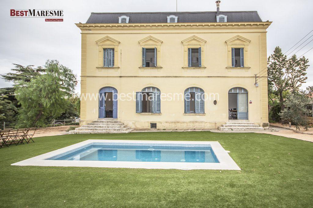 Maravillosa y única propiedad de estilo neoclásico del 1900