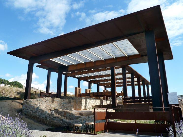 La visita a la bodega romana Vallmora permite conocer cómo era la producción de vino hace 2.000 años