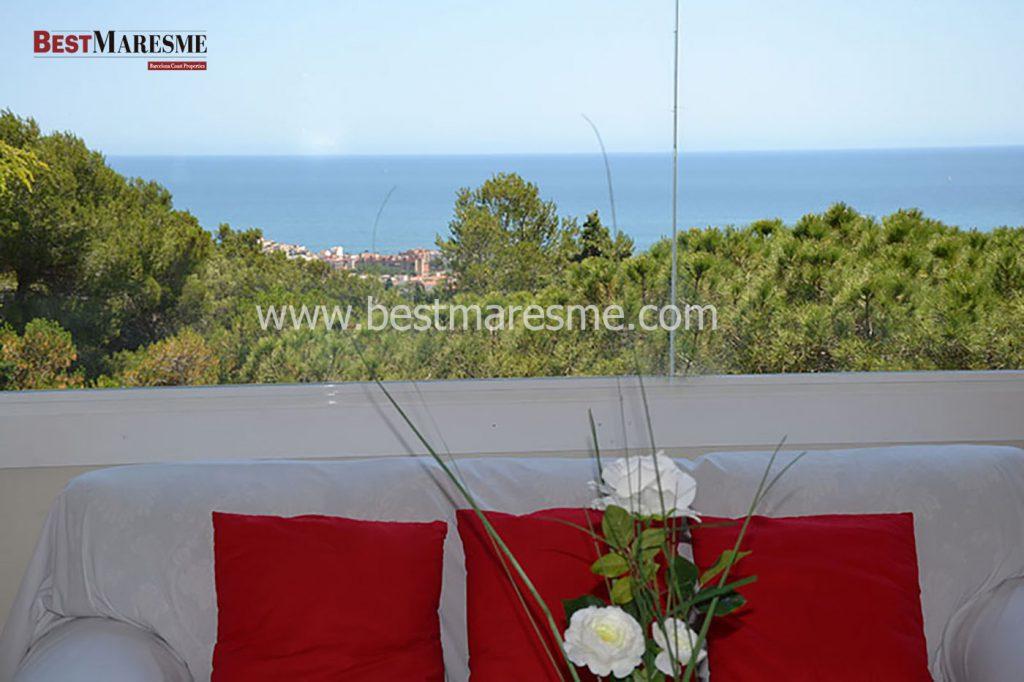 Immillorables vistes al mar, situació i orientació a Premia de Dalt!