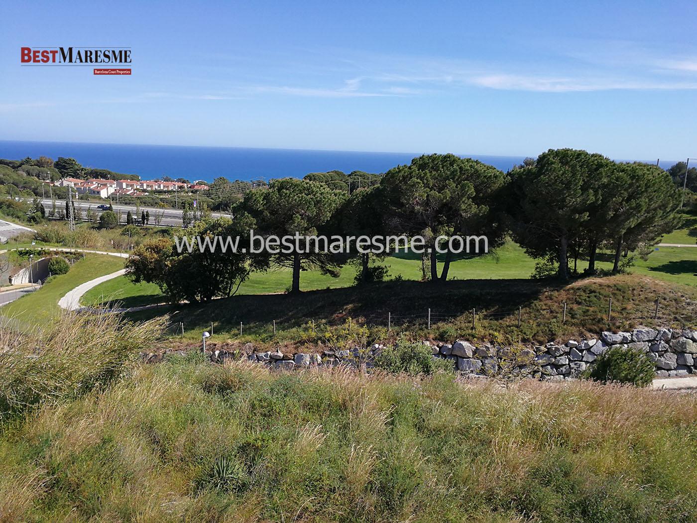 Terreno con vistas al mar, San Vicenç de Montalt