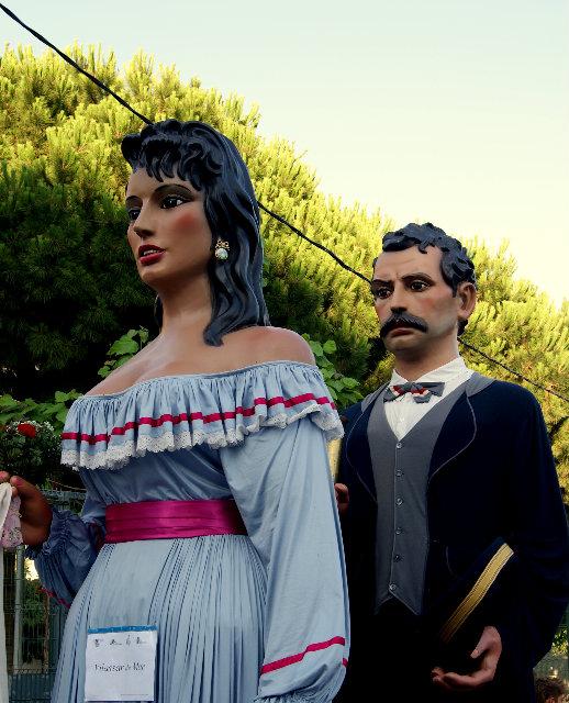 El Pigat y la Lucia- Gegants de Vilassar de Mar