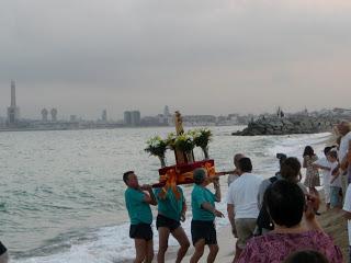 Cofradías de pescadores con la Virgen del Carmen