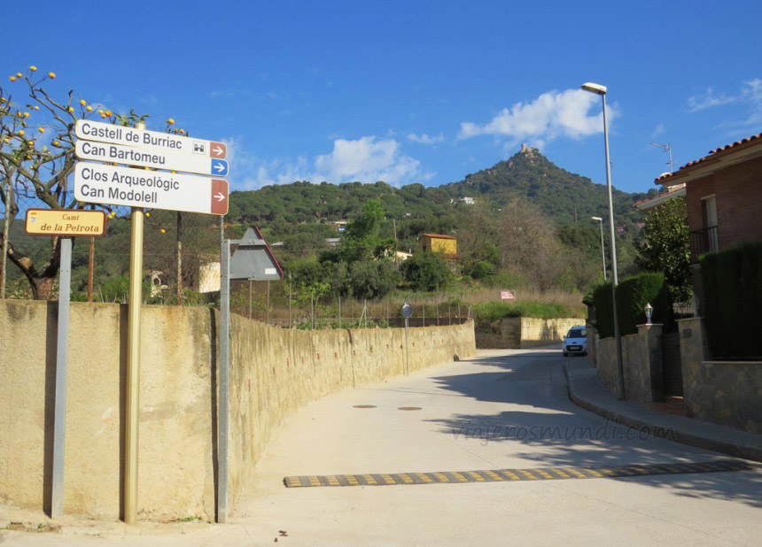 Punto de partida desde Cabrera de Mar