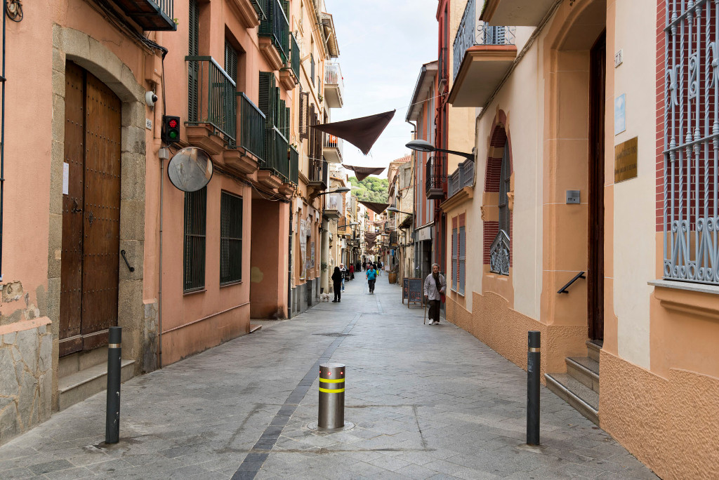 Calles de Sant Andreu de Llavaneres