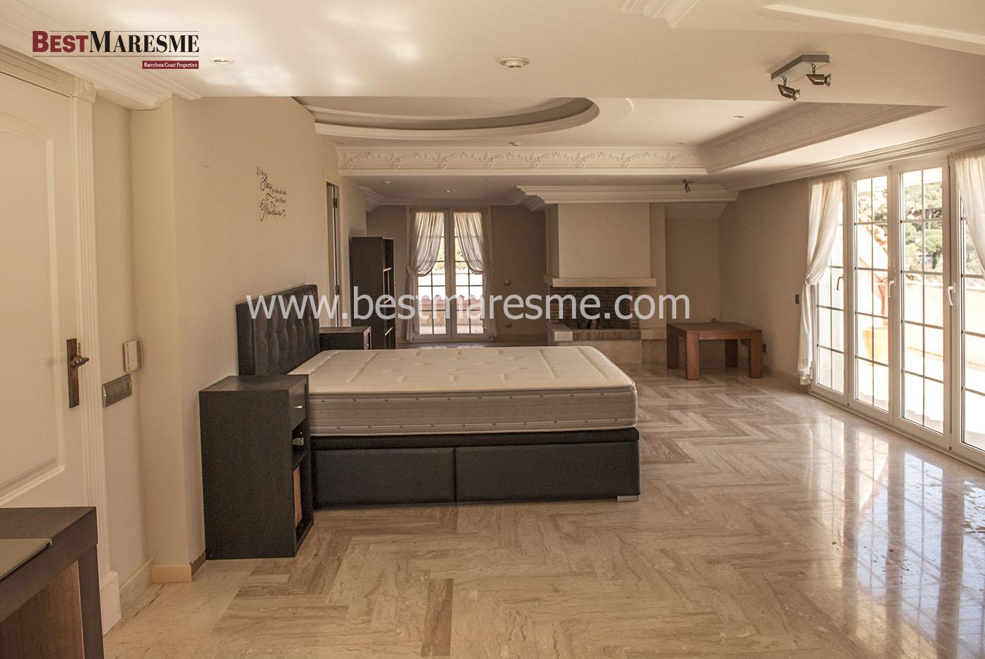 Suite principal con terraza