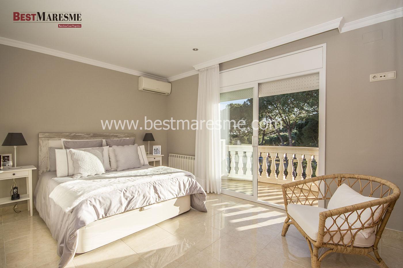 Suite con baño y terraza
