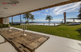 Simply spectacular and unique would be a good definition for this property located on top of a hill in the coastal town of Sant Andreu de Llavaneres