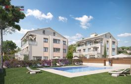 Appartements de nouvelle construction avec terrasse et jardin au coeur de Premia de Dalt.