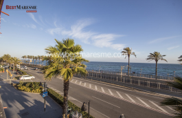 Appartement très lumineux à vendre avec une vue magnifique sur la mer et situé à 4min. de la gare de Vilassar de Mar.