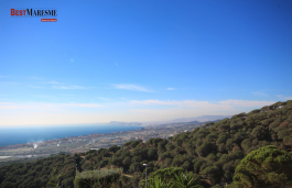 Spectacular land and amazing views to the Mediterranean Sea a 180 degree view
