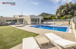 Spectacular house for rent, Cabrera de Mar