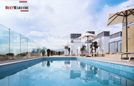 Penthouses with beautiful panoramic sea views and 5 minutes to the beach